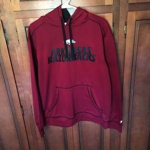 Arizona razorbacks hoodie medium Russell
